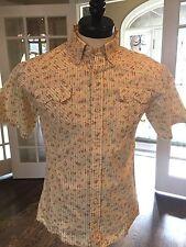 Men's short sleeve dress shirt. Reg $145 Sale $39.99  Med
