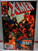 X-MEN (1991) #89 NM- NEWSSTAND VARIANT Captain Marvel MARVEL COMICS Wolverine