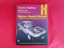 Haynes Automotive Repair Manual 92005 Toyota Camry 1983-91 All Gas Engine Models