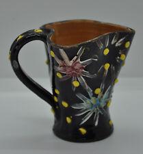 Ancien petit pichet signé TALE 3 CW art populaire collection céramique