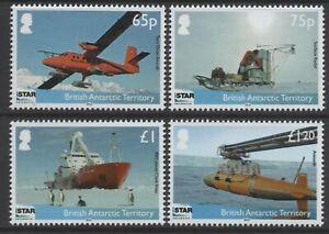 British Antarctic Territory 2014 ISTAR - NERC set of 4 MUH