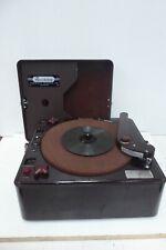 ART DECO RECORDON THERMIONIC BAKELITE CASE PORTABLE RECORD PLAYER RECORDER