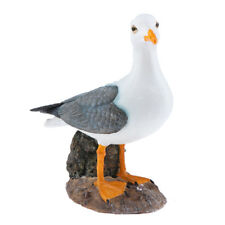 Creative Resin Craft Gift Standing Seagull Bird Garden Yard Landscape Decor