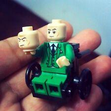 PROFESSOR X X-MEN Minifigures Custom Legoe Marvel Super Heroes DIY Blocks Toys