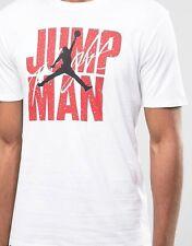 Nike Jordan Jump Man tee in white large