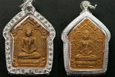 Luang Pu Thim Phra Khun phaen Phong Phrai Kuman Wat La Han Rai Thai Amulet*2