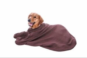 Microfibre Dog Bag Micro Fleece Towel To Keep Doggy Warm, Dry & Clean All Sizes