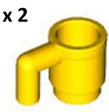 LEGO Minifig Utensil YELLOW CUP Drink Mug Coffee Creator Belville Friends Food
