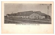 Early 1900s Shovel Works, New Castle, IN Postcard *5K10