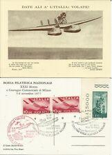 CRE01.Italia.5-11-1977.Volo De Pinedo.50°anniversario.Aerofilatelia.S.Maria in v