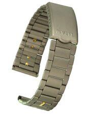 Titan Uhrarmband von Osco Faltschliesse 18 mm Metallband Uhrenband Uhrband