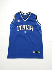 Vintage Champion 2000s Italy National Basketball Team jersey men's M