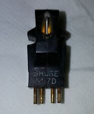 Vintage SHURE M7D Phono Cartridge stylus Turntable Record player Near