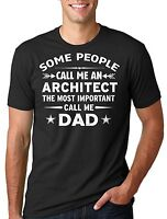 Architect Father Dad T-shirt Father's Day Tee Shirt Gift For Architect dad