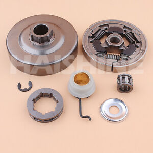 """3/8""""-7T Sprocket Clutch Drum For Stihl 036 MS360 034 MS340 Chainsaw Olier Kit"""