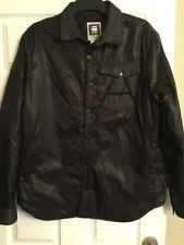 Mens G-Star Raw A Crotch Varsity Snap Jacket  Size XL.