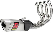 AKRAPOVIC Evolution GP Full Exhaust System Yamaha R1 / R1M 2015 Natural Titanium