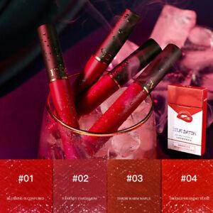 5Pc/Set Lipstick Matte Long Lasting Waterproof Non-Stick Cup Matte Lip Glaze Lip