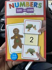 Numbers Slide And Learn Interactive Flash Cards