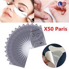 50 Pairs/100x Eyelash Lash Extension Under Eye Gel Pads Lint Free False Eyelash