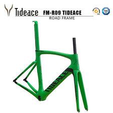 Tideace T800 Carbon Fiber Cycling Bicycle Frames BSA 700C Racing Bike Frames OEM