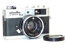 Minolta Hi-Matic 7s II Rangefinder Camera, 40mm Lens F:1.7
