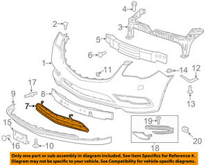 Buick GM OEM 13-16 Enclave-Grille-Lower 20983400