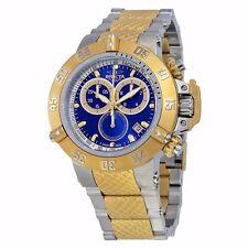 Invicta Men's 15946 Subaqua Quartz Chronogr Blue Dial Watch. Authorized dealer.