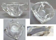 Cendrier coupelle en cristal signé DAUM France