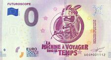 BILLET 0 EURO FUTUROSCOPE LA MACHINE  VOYAGE .2019-4 NUMERO SUITE  1112