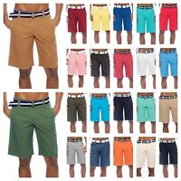 Men's Shorts Bahamas Belted Walkout Casual Fashion Shorts Beach Jogger Shorts