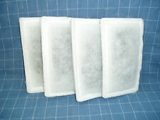 """4 pk - """"Old Style"""" TOP FIN 10, 15 GINGER Power filter cartridges (PRE-FILLED)"""