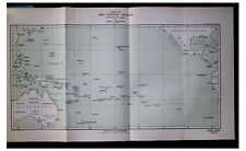 1914 Thomson - PACIFIC - LOST EXPLORERS - TWO LARGE MAPS - 7