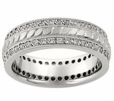 1.65 Ct. TW Round Diamond Eternity Wedding Band Ring In Platinum
