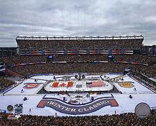 Montreal Canadiens Boston Bruins 8x10 Photo 2016 Hockey Winter Classic Stadium