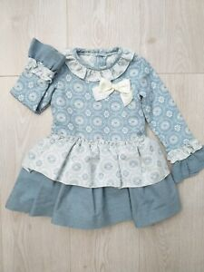 Girls Spanish Romany dress with Print 2 years Old