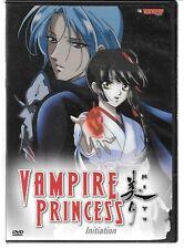 Tokyo Pop VAMPIRE PRINCESS Initiation, Anime, 3 Episodes, USED DVD