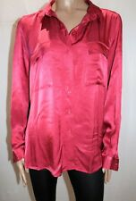 TARGET COLLECTION Brand Red Luxe Long Sleeve Utility Shirt Size 20 BNWT #TU02