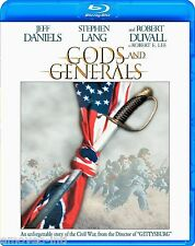 GODS AND GENERALS (ORIGINAL THEATRICAL VERSION 219 MIN) *NEW BLU-RAY*