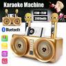 Bluetooth Wireless Karaoke Machine Singing Recording Microphone System Speaker