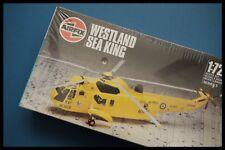 Vintage Airfix Westland Sea King -1/72 escala 1986 Series 3 Kit Modelo Caja Sellada