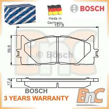 BOSCH FRONT DISC BRAKE PAD SET FOR TOYOTA CAMRY XV4 OEM 0986494430 0446533450