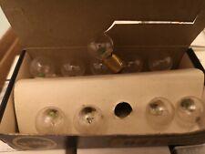6 VOLT 6watt. Single contact  side light / TAIL bulbs X 10