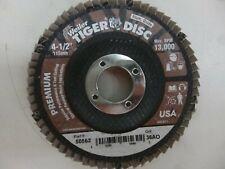 "3pcs 4-1//2/"" x 7//8 Aluminum Oxide 80 Grit A3 Type 29 Flap Disc CGW 39425 USA"