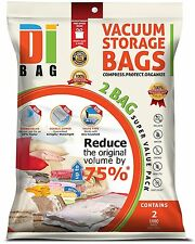 "DIBAG ® 2 Bags Pack 70.86""x43.30""180x110cm Vacuum Compressed Storage Space Saver"