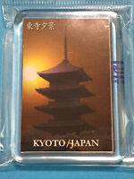 F/S Japanese Toji Temple Photo Fridge Magnet from Kyoto Japan
