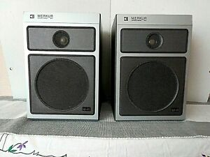 Zweiwegeboxen Merkur B9151 Lautsprecher Boxen RFT DDR