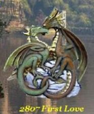 *Doc Holliday Ceramic Bisque DRAGON FIRST LOVE Ready to Paint*