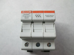 NNB Mersen Ferraz Shawmut USCC3 UltraSafe Fuse Holder (3 Pole, 30 Amp)
