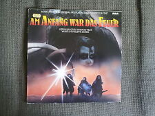 PHILIPPE SARDE - Am Anfang war das Feuer OST LP (RCA, 1981) *rare OOP Soundtrack